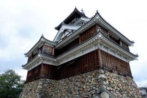 福知山城へ行って きました